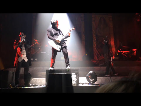 GHOST 37 minutes, 6 songs, live Rockhal (better in 1080p HD)