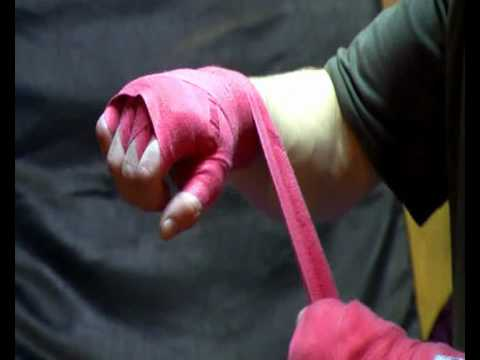 Wrapping Hands For Boxing
