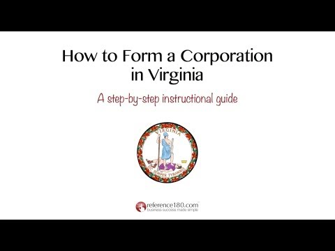 How to Incorporate in Virginia