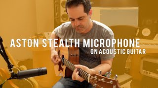 Aston Stealth mic for guitars