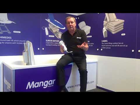 How To Install And Use The Mangar Health Archimedes Bath Lift