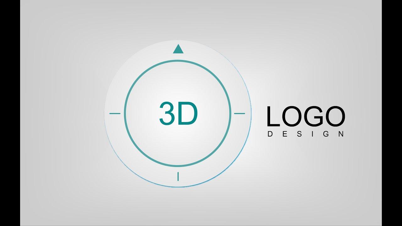 How to make GPS 3D Logo   Professional Logo design   Photography ...