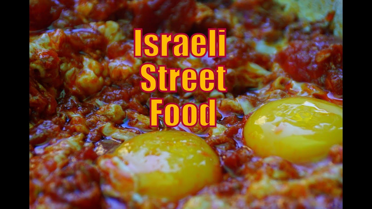 Eating Israeli Street Food and Arabic Street Food touring ...
