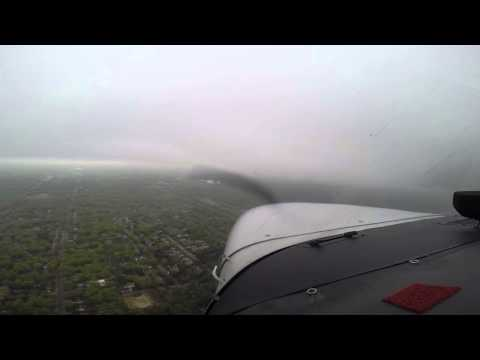KISP ILS 24 IFR Training in VMC Cessna 172