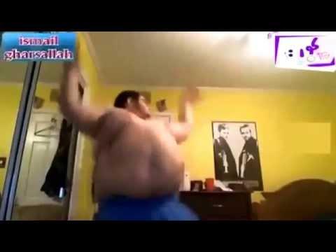Fat guy dancing to arab music 30' NON-STOP ( دي بشرة خير )