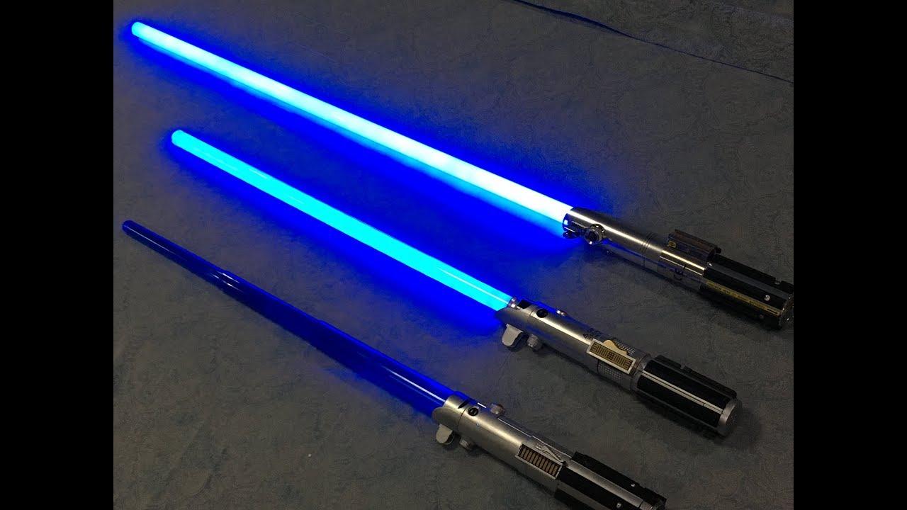 Jedi Lightsaber Training
