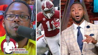 "Ryan Clark calls Henry Ruggs ""overrated"" on 'Get Up', Stephen gives his rebuttal"
