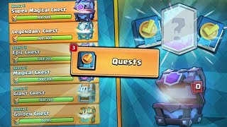 "OPENING ALL NEW ""QUEST"" CHESTS & QUESTS GUIDE! 