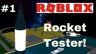 Ten thousand rockets color the space full of science! ROBLOX Rocket Tester