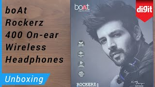 boAt Rockerz 400 Bluetooth Headphone Unboxing & Overview