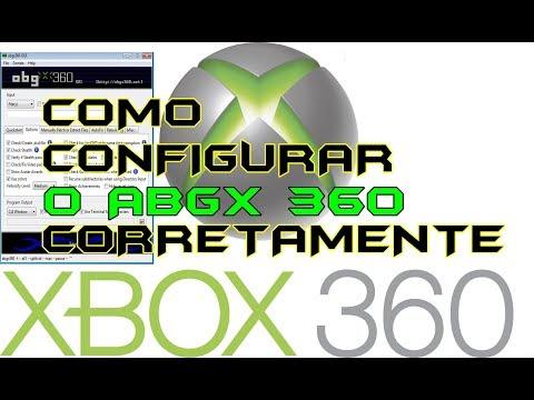 ABGX 360 COMO CONFIGURAR CORRETAMENTE E CORRIGIR SUA ISO TUTORIAL 2018 - XBOX 360