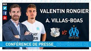 Amiens - OM La conférence de presse de Valentin Rongier & d'André Villas-Boas