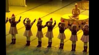 2011 детский ансамбль Жемчужина Бурятии Бурятский танец танцуют дети