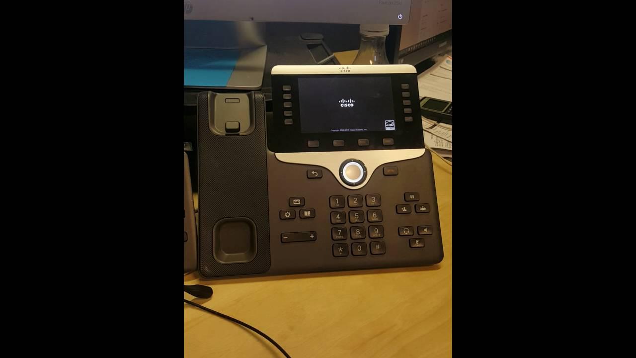 Factory Reset a Cisco 8841 Model IP Phone (PoE)