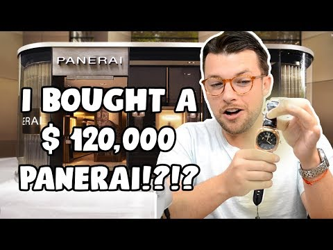 ⌚ I Bought A $120,000 Panerai ?!?! - And Review