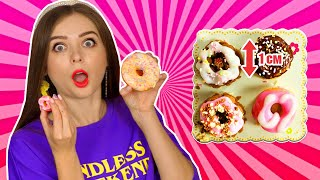 ПОНЧИКИ ИЗ ПОРОШКА! Японские пончики ПРОТИВ настоящих! Челлендж 🐞 Afinka