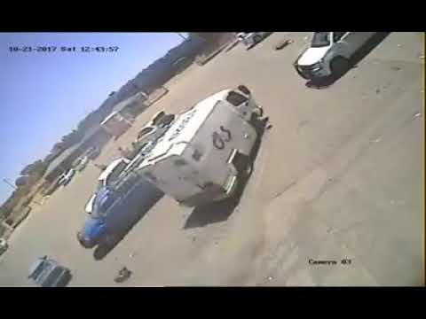 THE DRIVER TEACHES THE ROBBERS A LESSON
