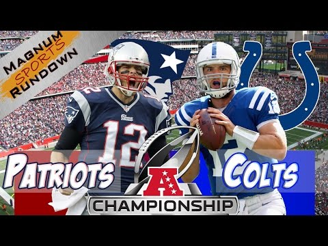 Colts at Patriots AFC Championship Preview & Prediction || MSR
