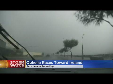 Hurricane Ophelia's Remnants Hit Ireland, Head For Scotland