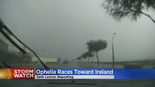 Hurricane Ophelia's Remnants Hit Ireland, Head For Scotland