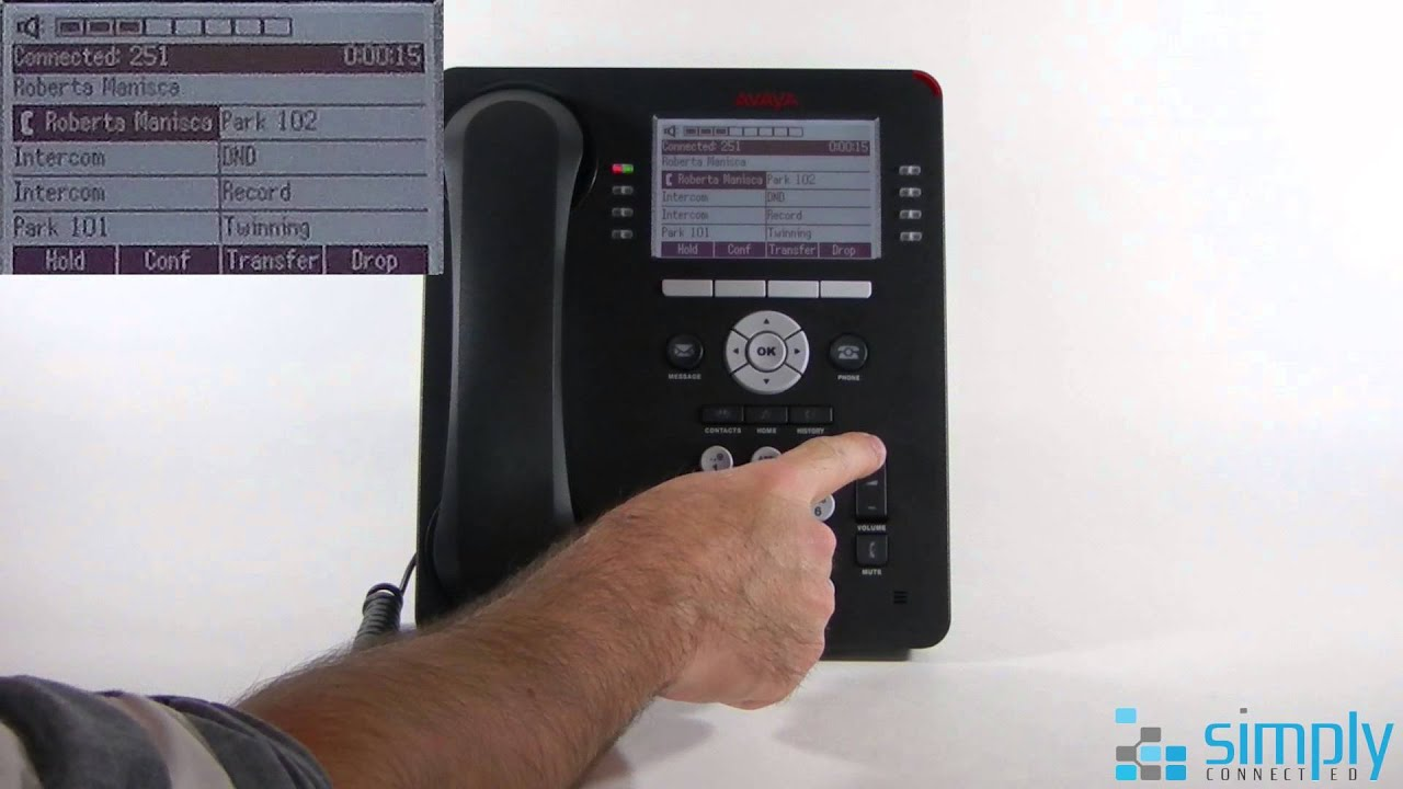 Simply Connected's Basic Guide to the Avaya 9608 IP