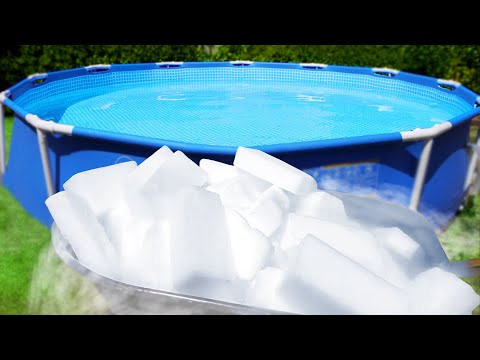 Dry Ice Swimming Pool! - Beast Reacts