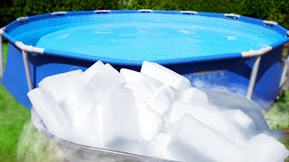 Dry Ice Swimming Pool!