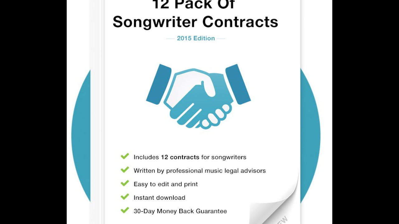 Music Contract Packages for Producers Promoters Labels – Music Contract Template