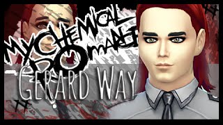 The Sims 4 Create A Sim | My Chemical Romance | Gerard Way Inspired