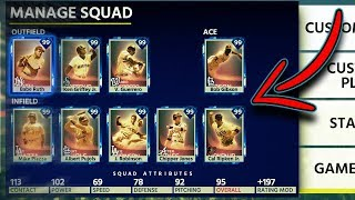 FULL IMMORTAL LINEUP | MLB THE SHOW 18 DIAMOND DYNASTY