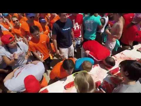 2017 Aerospace Summer Games - Watermelon Eating Contest