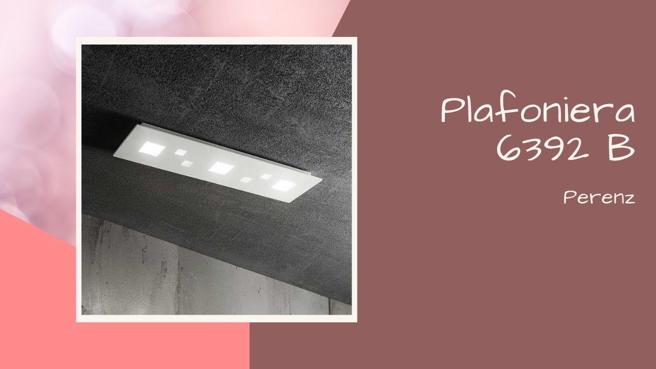 Plafoniere Da Cucina A Led : Plafoniera da cucina a led perenz in metallo bianco youtube