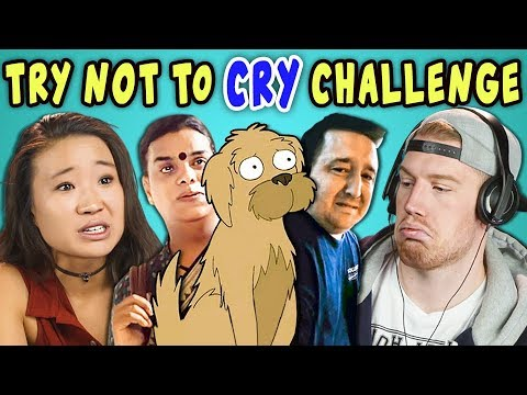 Thumbnail: COLLEGE KIDS REACT TO TRY NOT TO CRY CHALLENGE