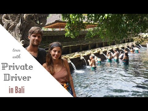 One day tour with PRIVATE DRIVER in Bali