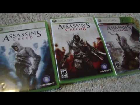 Assassin S Creed 3 Xbox 360 Gamestop Edition Unboxing Video Youtube