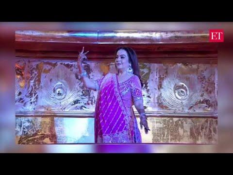 Nita Ambani's special performance at son Akash's wedding