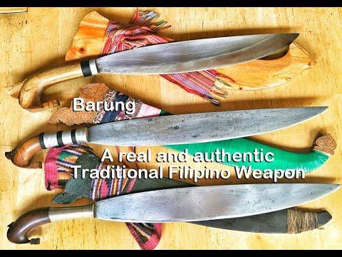 Barung (a Real Traditional Filipino Weapon)