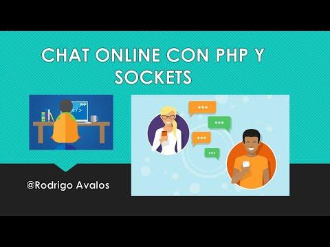 Chat Online - PHP+Sockets+JQuery+HTML5+CSS+MySQL