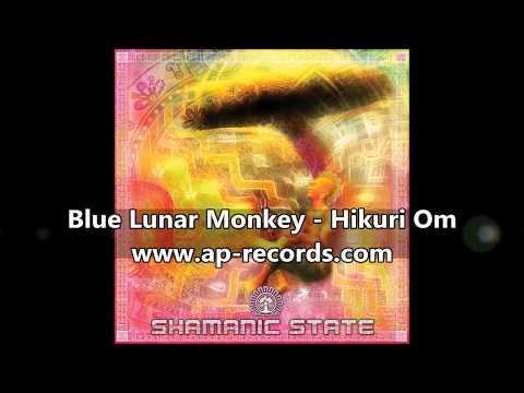 Blue Lunar Monkey - Hikuri Om