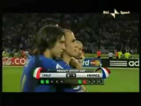 2006 World Cup Germany  Final  Penalty Shootout