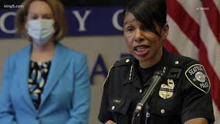 Seattle Police Chief Carmen Best announces retirement