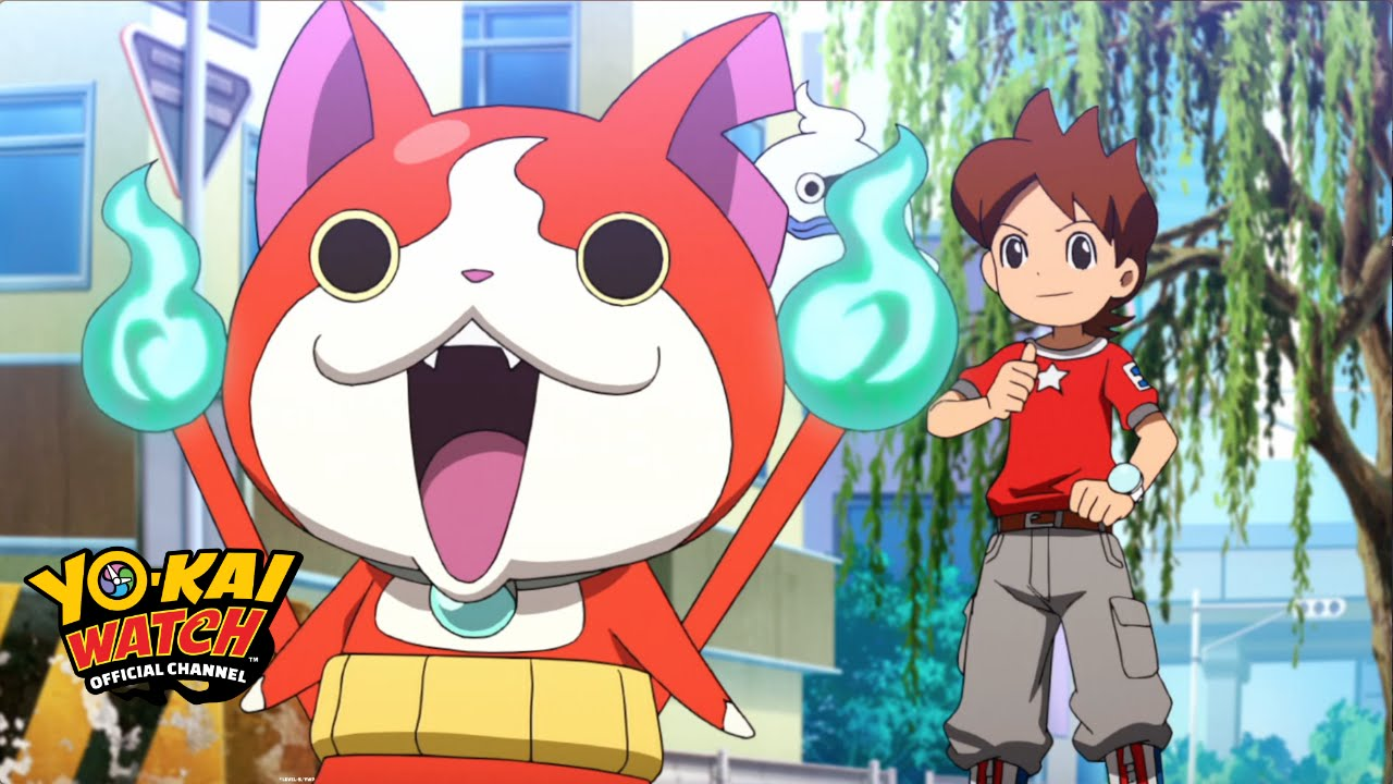 yo kai watch 01 official full episode youtube. Black Bedroom Furniture Sets. Home Design Ideas
