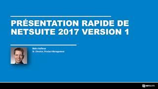 Release 2017 1 Overview fr FR