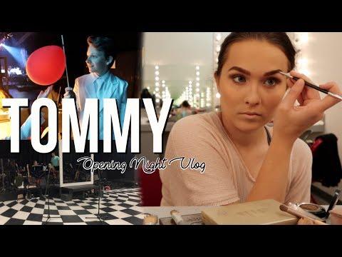 Tommy Opening Night Vlog   AbbyPeek