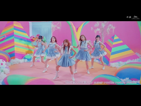 【MV繁中韓字】Red Velvet (레드벨벳) _ Rookie