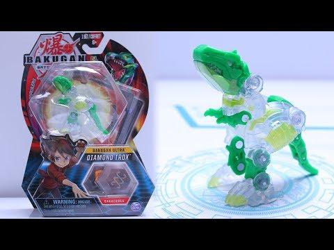 Bakugan Battle Planet | DIAMOND ULTRA TROX UNBOXING