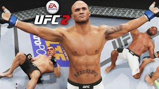 ROBBIE LAWLER IS SO OP IT'S CRAZY! Too Fast and Strong! EA Sports UFC 2 Online Gameplay