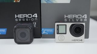 GoPro Hero 4 Session vs Hero 4 Silver