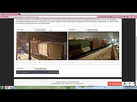 railfan the railcams in Port Huron Charter Township, MI Including RARE CATCHES