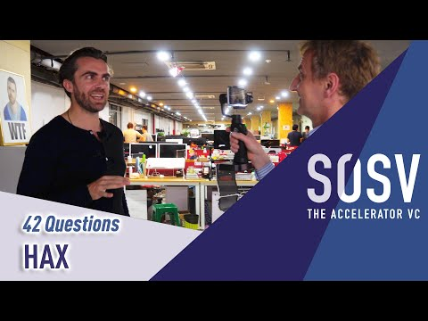 42 Questions with HAX - How to do a hardware startup